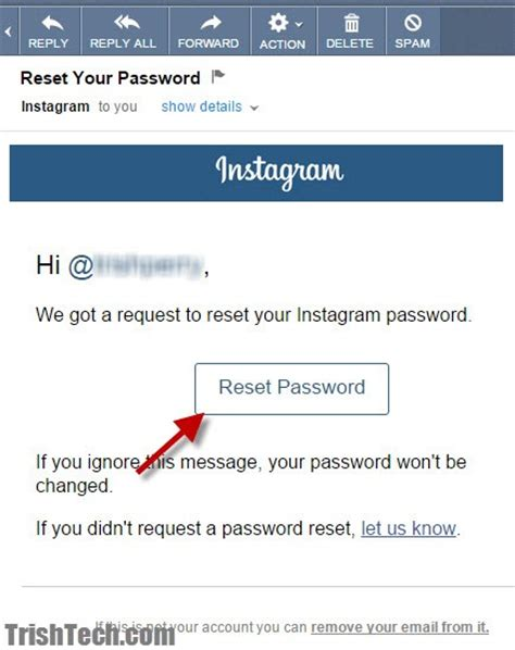 Find On Instagram By Email How To Reset Instagram Password Easily