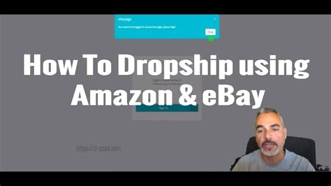ebay dropship how to dropship using amazon and ebay how to find