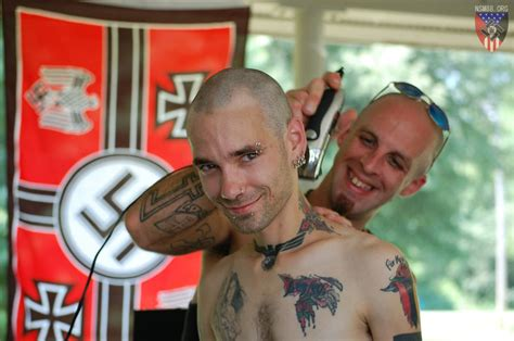 pin neo skinhead group volksfront shows off a fresh
