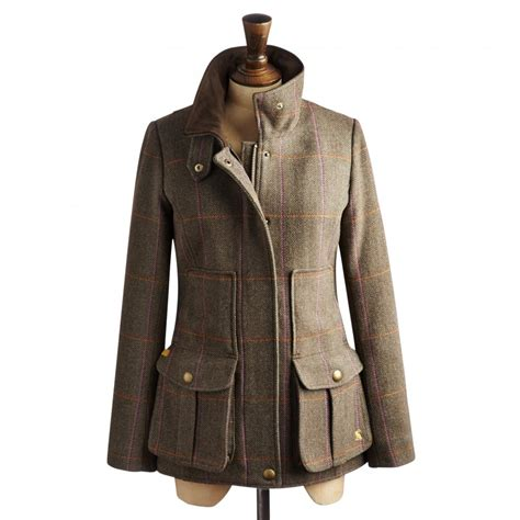 Tweed Coat joules tweed field coat