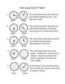 pictures telling time free printable worksheets love