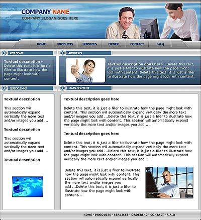 web page design www pixshark com images galleries with web page templates sle 6