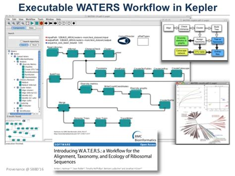 kepler workflow provenance in databases and scientific workflows part i