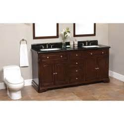 Costco Double Sink Vanity Luton 72 Quot Double Sink Vanity Granite Top