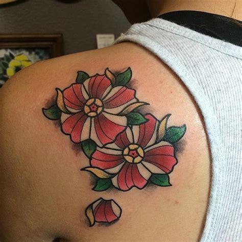 falling rose petals tattoo small back dubuddha org