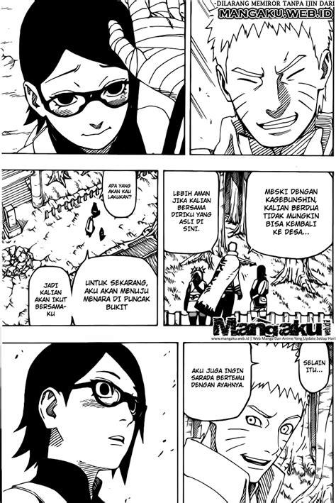Komik Naruto Gaiden 004 / 704 - Kesempatan Bertemu Bagian