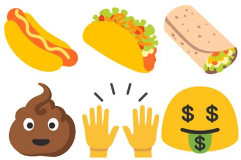 emoji update for android image gallery stink emoji