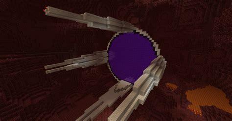 Home Design Diamonds nether portal sci fi like 3 portals minecraft project