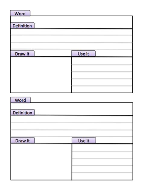 study cards template tabbed index study cards make this page into a