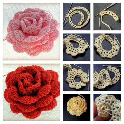 crochet how how to crochet a beautiful lace ribbon