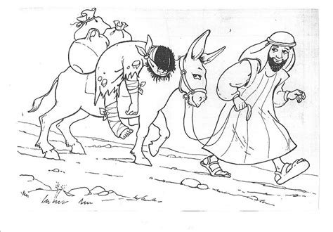 coloring page for good samaritan good samaritan coloring printables pages bebo pandco