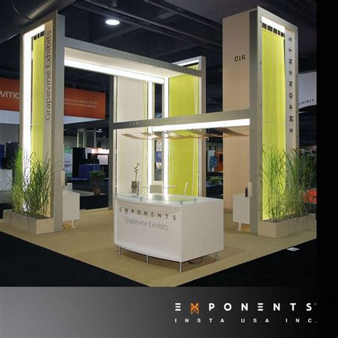 booth design maker modular booth design lumiture is internally lit frame