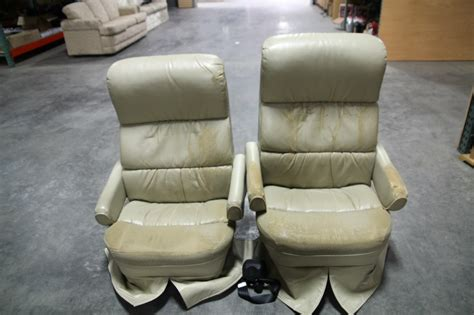 Flexsteel Rv Captains Chairs Parts by Rv Furniture Recoverable Rv Captain Chair Set Flexsteel