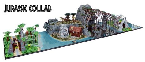 tutorial lego jurassic park jurassic park lego set creation combines all the movies