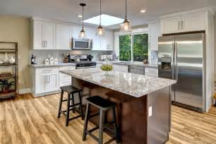 White L Shaped Kitchen With Island 57 Luxury Kitchen Island Designs Pictures Designing Idea