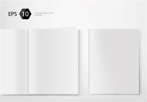 blank magazine template psd magazine free vector 584 free vector for