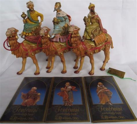 5 fontanini magi fontanini wise shop collectibles daily