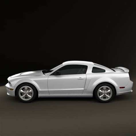 ford mustang shelby gt h 2006 3d model humster3d