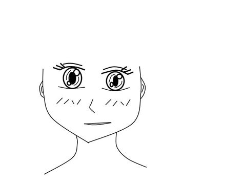 Anime Sitting Outline by The Gallery For Gt Anime Boy Template