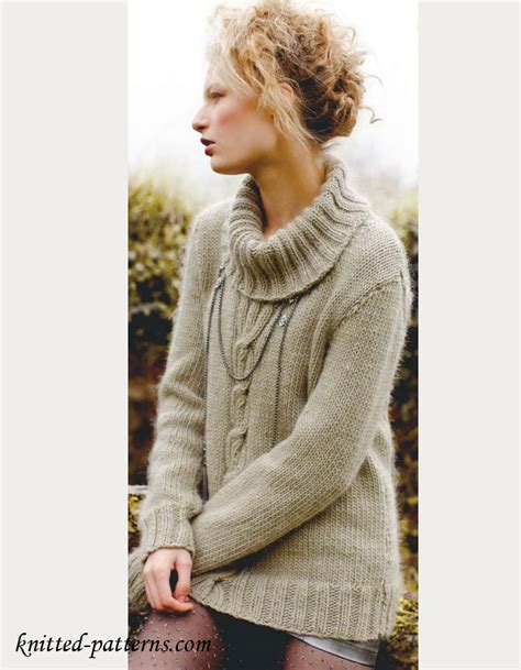 knitting patterns for s jumpers s sweater knitting pattern free