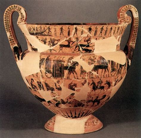 The Francois Vase by Francois Vase Ancient History Encyclopedia