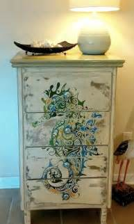 repurposed furniture thanks to diy painting projects