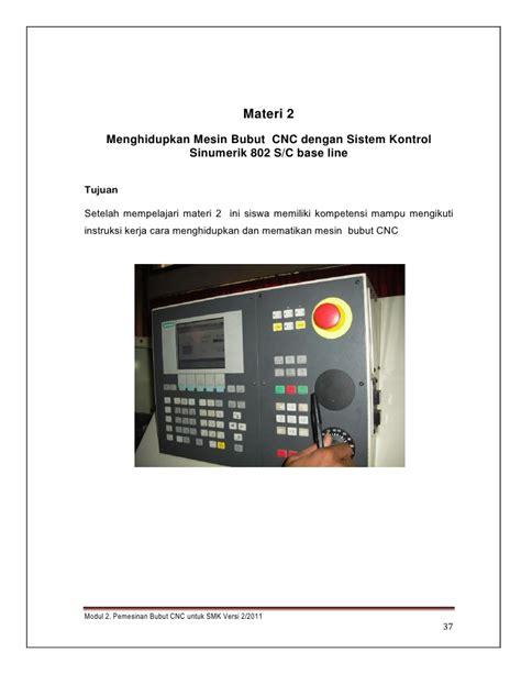 Mesin Bubut Cnc modul 2 mesin bubut cnc versi juli