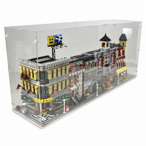 Display Box Lego White display for 4x lego modular buildings