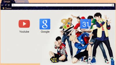 theme chrome monsta x monsta x chrome themes themebeta
