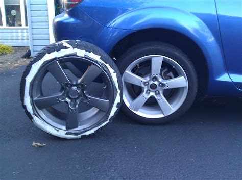 diy painting your oem rims rx8club