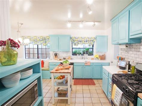 kitchen color schemes blue blue kitchen paint colors pictures ideas tips from hgtv hgtv