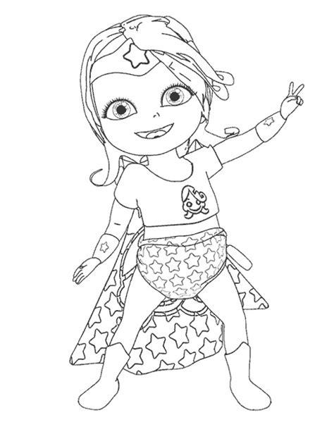 dessins de coloriage  woman dessin anime