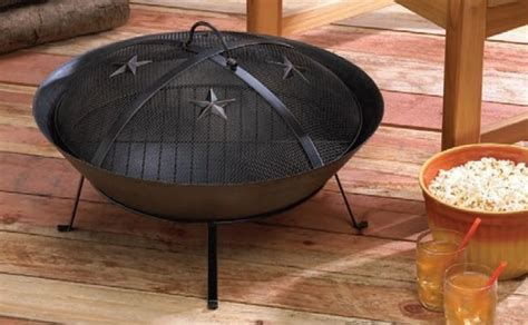 western pits western cast iron pit with mesh lid yard garden
