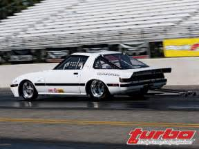 2008 battle of the imports mazda rx7 fb3s drag car photo 8