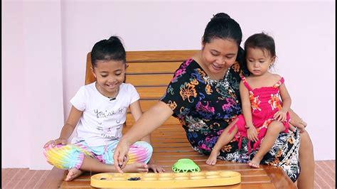 Congklakmainan Anak Seru Bermain Congklak Dengan Mamah Mainan Anak