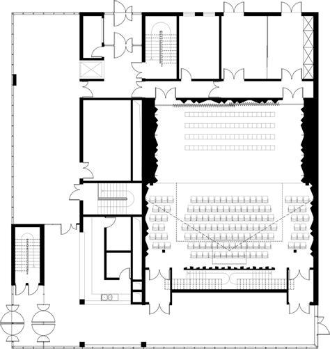 auditorium plan arquitectura educativa pinterest auditorium of bondy architizer