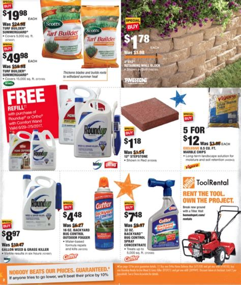 home depot weekly ad preview 6 29 17 7 5 17 the weekly ad