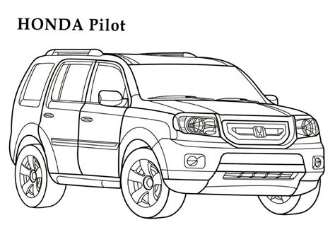coloring pages honda cars honda coloring pages 4 honda kids printables coloring