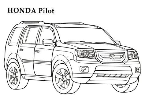 realistic cars coloring pages honda coloring pages 4 honda kids printables coloring