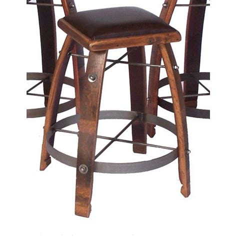 32 Inch Stool by 2 Day Designs Caramel 32 Inch Stool With Chocolate Leather Seat On Sale