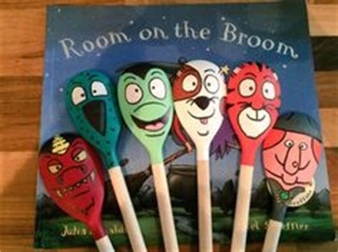 Room On The Broom Animals by Animal Puppets Wooden Spoon Puppets Waldorf By
