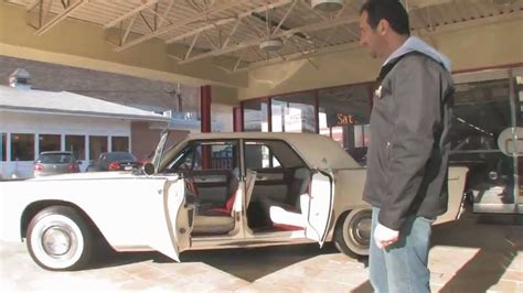 1961 lincoln continental for sale with test drive driving