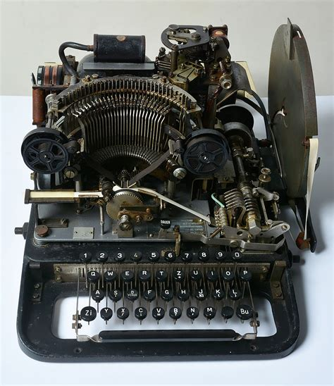 cipher machines the history blog 187 blog archive 187 museum finds part of cipher machine on ebay