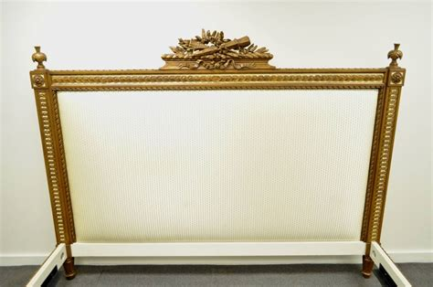 Carved Bed Frames Ralph Home Louis Xvi Style Carved Giltwood King Size Bed Frame At 1stdibs