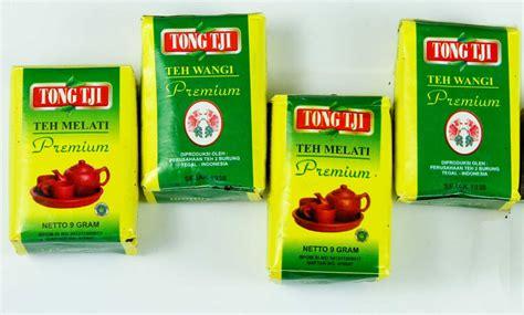 4 pcs of tongtji teh melati premium 10 gram tong tji