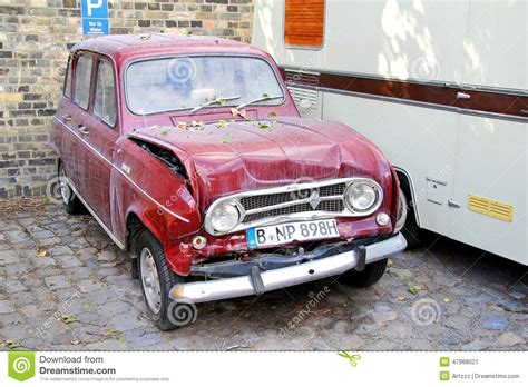 vintage renault cars renault 4 editorial photo image of cheap legendary