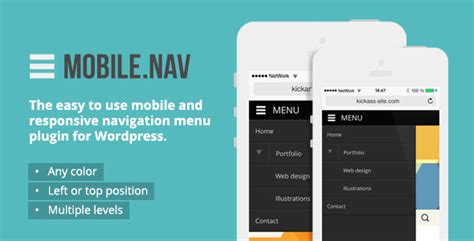 html css mobile layout mobile nav responsive menu plugin wordpress plugins