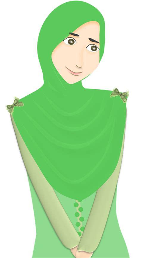 doodle nama ayu iznie freebies kartun muslimah ayu