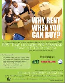 destination central florida first time home buyer seminar