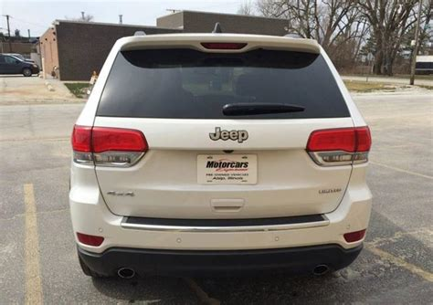 2014 Jeep Grand Cherokee Limited 4x4 4dr Suv Stock 4519